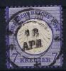Germany: 1872 Mi. Nr 10, Used - Germany
