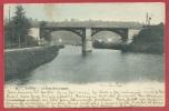Lobbes - Le Pont De La Couture - Jolie Carte Couleur - 1905 ( Voir Verso ) - Lobbes