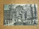 Carte Postale Affranchie Type Blanc Oblitération Paris Départ Lettres - Poststempel (Briefe)