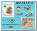 Nicaragua 1980, Postfris MNH, Olympic Games - Nicaragua