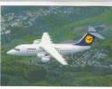 Lufthansa Flugzeug, Cityliner Avro RJ85 - 1946-....: Moderne