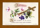 IMAGE RELIGIEUSE PIEUSE . Souvenir De Prêtrise 1891 - Images Religieuses