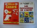 Le Canard Enchainé : Lot De 2 Revues DICO CANARD 1973 ET LES CASCADEURS DE L'IMPOT 1972 - Politics