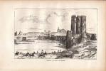 1880 - Albert ROBIDA - Gravure Sur Bois - Cordoue (Córdoba) - Le Pont Et La Carrahola - FRANCO DE PORT - Estampes & Gravures