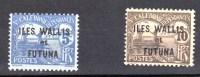 Wallis Et Futuna N° 1 Et 2** TAXE - Postage Due