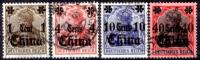 Cina-(Uff.Ted.)-0029 - 1905 - Y&T: N. 39, 41, 42, 44, (o) Privi Di Difetti Occulti. - Ufficio: Cina