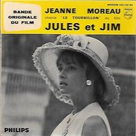 45 TOURS  JEANNE MOREAU ** LE TOURBILLON - Soundtracks, Film Music