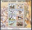 GB - Jersey (1997) Yv. Bf. 17  /  Aves - Birds - Oiseaux - Vogel - Vogels