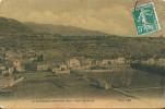 83 La ROQUEBRUSSANNE - Vue Générale  En 1910 , ( Carte Toillée Couleur ) - La Roquebrussanne