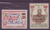 Cambodge N ° 198-199 Et 200 à 202** - Cambodge