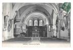 C P A  GENDREY - Intérieur  De  L' Eglise - Autres Communes