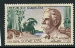 Gabon 1960 200f Dr. Albert Schweitzer Issue #C1  MNH - Gabon