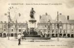 Charleville - Statue De Charles De Gonzague - Charleville