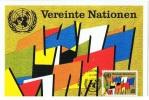 DR-L33 - NATIONS-UNIES VIENNE Carte Maximum Drapeaux - Briefe