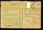 GB 1943 Green Active Service OAS Cover RAF Censor 30 FPO ? With Added 2 X 5d (T592) - Postmark Collection