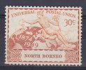 North Borneo 1949 Mi. 275      30c. UPU Weltpostverein MH* - North Borneo (...-1963)