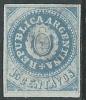 1862 ARGENTINA REPUBBLICA 15 CENT SENZA GOMMA - G47 - Nuovi