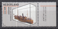 Nederland - 12 Oktober 2015 - Scheepsmodellen - Maritiem Museum - Rotterdam - Assahan Marineschip 1900 - MNH - Maritiem