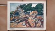 BRETAGNE - LE CHANTIER DE CONSTRUCTION - JEAN HAFFEN - Autres Collections