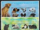 Palau 2002 SC 680-683 MNH Pets - Palau