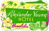 26 HOTEL LABELS USA GEORGIA Rome Augusta Atlanta  HAWAIHonolulu Waikiki  ILLINOIS Galesburg Chicago Quincy - Hotel Labels