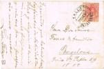 15123. Postal VALLS (Tarragona) 1910 A Barcelona - 1889-1931 Kingdom: Alphonse XIII