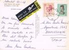 15125. Postal Aerea BEYOGLU (Turquia) 1967. Vista Rumeli Hisarinin. BOSFORO - 1921-... Republic