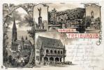 ALLEMAGNE GRUSS AUS FREIBURG 1899 - Freiburg I. Br.