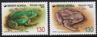 Korea 1995 Frogs 2v MNH** - Frogs