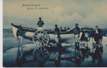 Cpa 1908 Blankenberghe. Barque De Sauvetage. Vue Animée. (Dr Trenkler Co) - Blankenberge