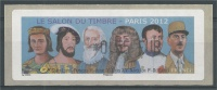 France, ATM Label, French Celebrities, 0.55€, 2012, MNH VF - 2010-... Illustrated Franking Labels