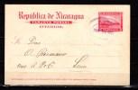 Nicaragua 1902 Postcard To Leon - Nicaragua