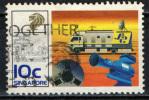 SINGAPORE - 1988 - SISTEMA TELEVISIVO NAZIONALE - 25° ANNIVERSARIO - USATO - Singapur (1959-...)
