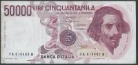 ITALY  ITALIA ITALIEN ITALIE       1984  50,000 LIRE S.P.L - [ 2] 1946-… : République