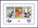 Belgium**CACTUS-STAPELIA-VRIESIA-FLOWERS-SHEET 3stamps-1965-MNH-Fiori-Fleurs-Blumen-Bloemen-Flores - Vegetales