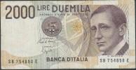 ITALY  ITALIA ITALIEN ITALIE    1990  2000 LIRE S.P.L - [ 2] 1946-… : Repubblica