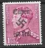 """Belgium - 1.50 Fr - Overprinted """"Eupen Is Free"""" -MLH - 1936-1951 Poortman"""