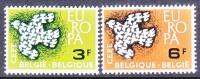 BELGIUM   572-3    *  EUROPA - Unused Stamps