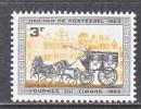 BELGIUM   591     *   STAMP  DAY - Unused Stamps