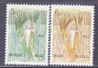 BELGIUM   593-4     *   PEACE  MOVEMENT - Belgium