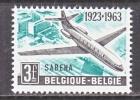 BELGIUM   597     *   SABENA - Unused Stamps