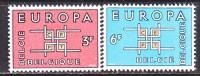 BELGIUM   598-9     *   EUROPA - Belgium