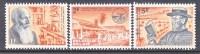 BELGIUM   603-5     *  MEDICINE  LEPROSY - Unused Stamps