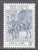 BELGIUM   609     *    STAMP  DAY - Unused Stamps