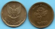 INDONESIE / INDONESIA  500 RUPIAH 1992