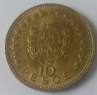 URUGUAY - 10 Pesos 1965 - Cu-Alu - - Uruguay