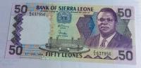 Billet : Sierra Leone - 50  Leones - 1988 (637956) - Sierra Leone