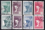 Lituanie 1990 N°Y.T. :  390 à 397 Obl. - Lituanie