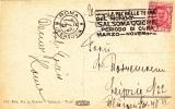 """Postkarte 1927 Von """"ROMA / FERROVIA"""" Nach Leipzig / Deutschland - 1900-44 Vittorio Emanuele III"""
