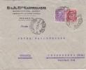 """Brief 1928 Von """"LISSONE / MILANO"""" Nach Cronenberg / Deutschland - Storia Postale"""